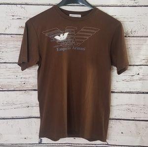 Vintage Emporio Armani Graphic Tee Shirt